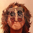 John Lennon by Janice Dunbar