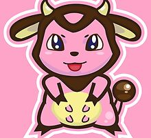 Miltank by Eat Sleep Poke Repeat