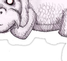Plushie Luck Dragon Sticker
