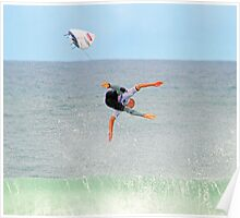 Kelly Slater gets more air at Bells Poster