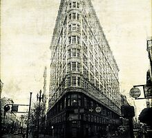 Flat Iron building by Lois Romer