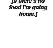"""""""If there's no food I'm going home"""" Grey's Anatomy [2] by mafaldamaria"""