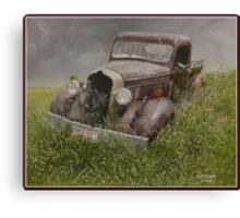 Old Dodge. Canvas Print