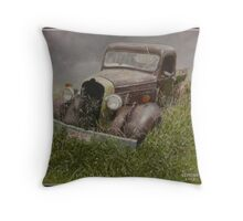 Old Dodge. Throw Pillow