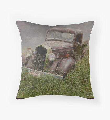 Old Dodge. Throw Pillow