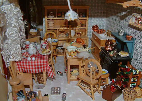 Doll House Kitchen by AnnDixon