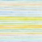 Watercolor Stripes by HappyDoodleLand