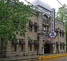 Palace Hotel and Bathhouse, Eureka Springs, Arkansas by Margaret  Hyde