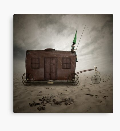 Forgotten wanderers Canvas Print