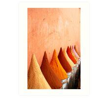 Souk Spices Art Print