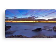 Glutinous  Rocks - Little Bay Canvas Print