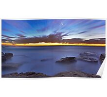 Glutinous  Rocks - Little Bay Poster