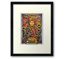"Tarot Card Number 19 ""The Sun"" Framed Print"