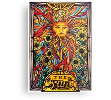 "Tarot Card Number 19 ""The Sun"" Metal Print"