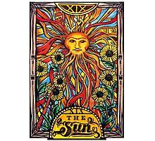 """Tarot Card Number 19 """"The Sun"""" Photographic Print"""