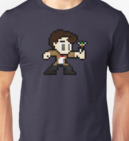 8-Bit 11th Doctor Unisex T-Shirt