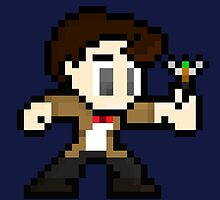8-Bit 11th Doctor by UniverseET