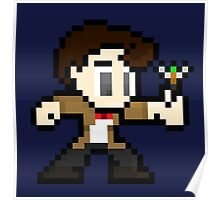 8-Bit 11th Doctor Poster