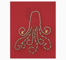 Christmas Octopus Baby Tee