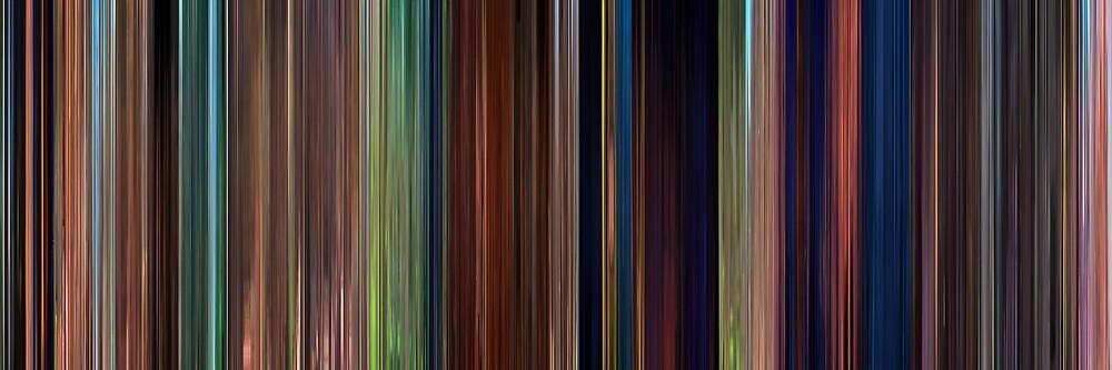 Moviebarcode: Tangled (2010) by moviebarcode