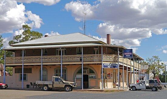 Koorawatha Hotel, New South Wales, Australia by Margaret  Hyde