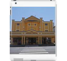 Gundagai Theatre, NSW, Australia iPad Case/Skin