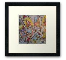 Tarot Time Framed Print