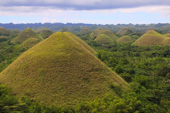Chocolate Hills, Chocolate Kisses by lensbaby