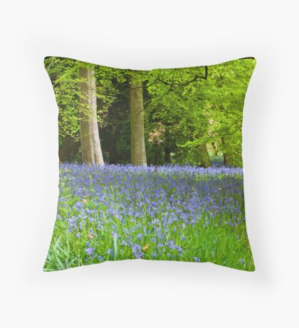 At The Side of the Path Throw Pillow