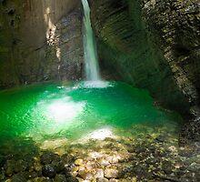 Veliki Kozjak Waterfall by Knedl