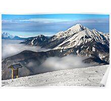 Ski center Krvavec Poster