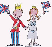 Kate and William Royal Wedding  by AndyLanhamArt