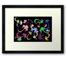 Antiviral Pond Framed Print