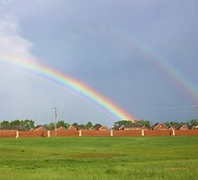 RAINBOW AFTER THE STORM by Pauline Evans