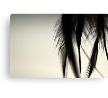 Feathers of Bibi Canvas Print