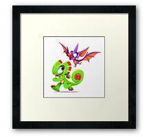 Yooka-Laylee Framed Print