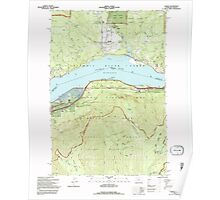 USGS Topo Map Washington Carson 240368 1994 24000 Poster
