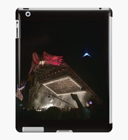 Kanye West at Glastonbury Festival  iPad Case/Skin