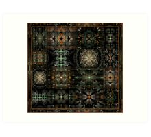 Splits-Crop Collage Art Print
