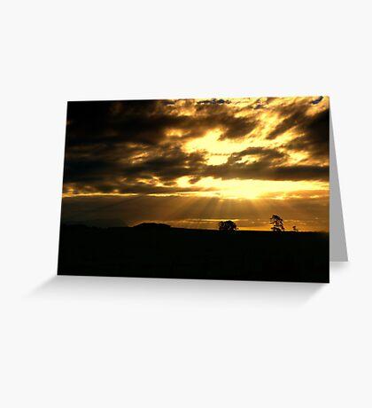 Sunbeams from Heaven Greeting Card