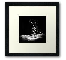 Needle and Thread Framed Print