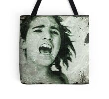 Sometimes you have to shout to be heard.. Tote Bag