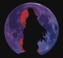 inuyasha sesshomaru mountain top moon anime manga shirt by ToDum2Lov3