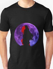 inuyasha sesshomaru mountain top moon anime manga shirt T-Shirt
