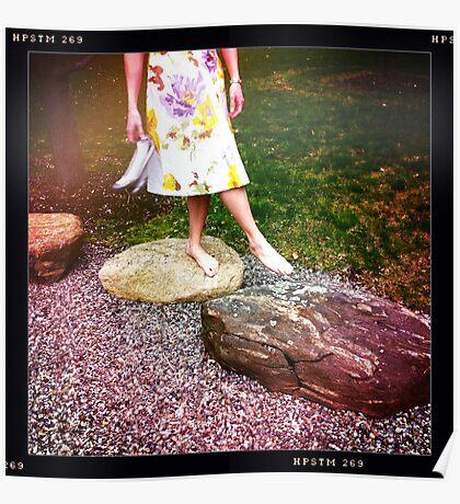 Walking Barefoot Poster