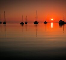 Sunrise Eastern Beach - Geelong Victoria by Graeme Buckland