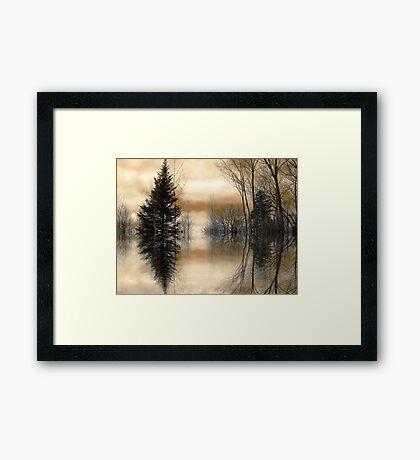 """Mirror"" Framed Print"