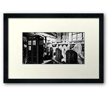The Dark Church Framed Print