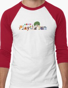 Character Caracters Men's Baseball ¾ T-Shirt
