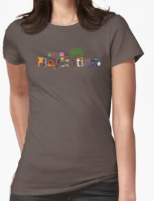 Character Caracters Womens Fitted T-Shirt
